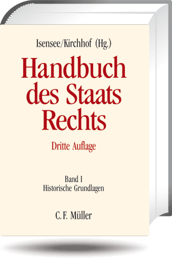Handbuch Des Staatsrechts Band I