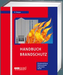 """Cover """"Handbuch Brandschutz"""""""