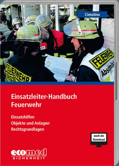 """Cover """"Einsatzleiter-Handbuch Feuerwehr"""""""