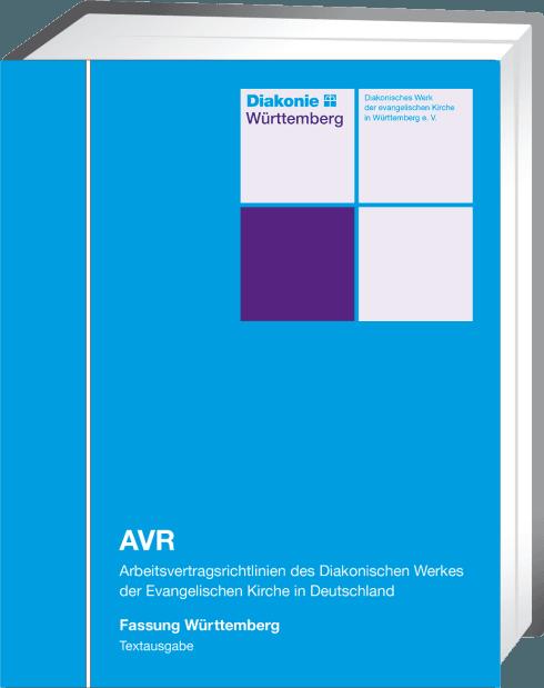 Fachverlag Für Kirchenrecht Avr Fassung Württemberg Textausgabe